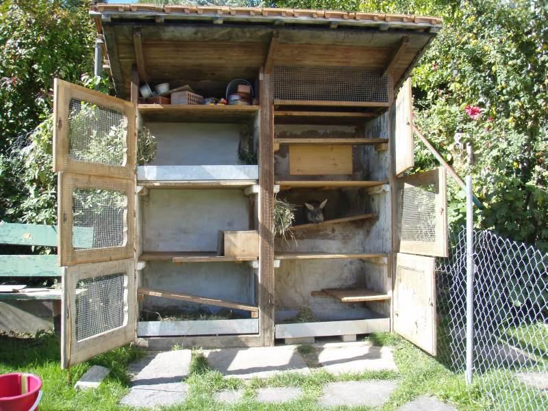 kaninchen info aussengehegebau umbau buchtenstall. Black Bedroom Furniture Sets. Home Design Ideas